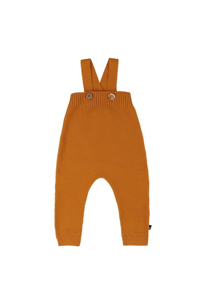 CarlijnQ Basics Knit - Salopette Pumpkin_1