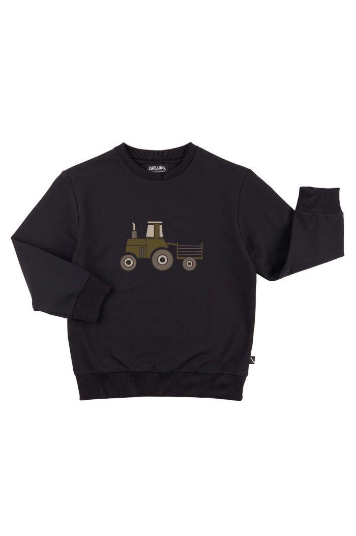 CarlijnQ Sweater Navy Tractor_1