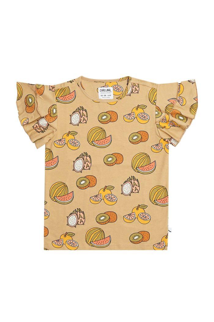 CarlijnQ Ruffled T-Shirt Summer Fruit_1