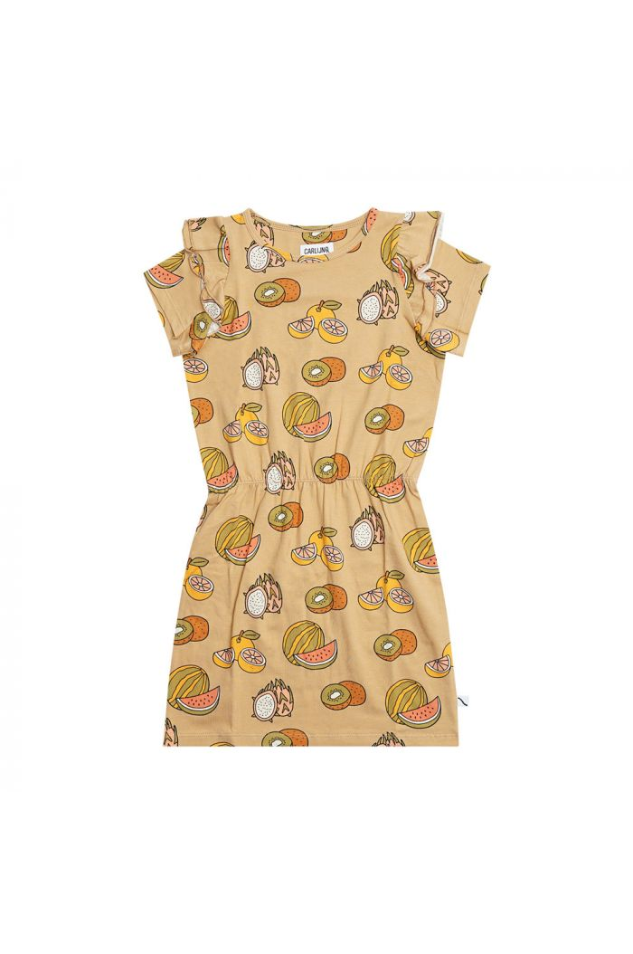 CarlijnQ Ruffled Dress Summer Fruit_1