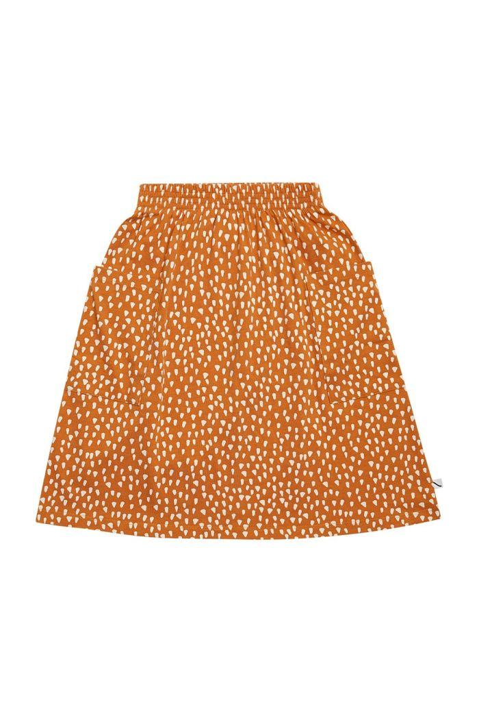CarlijnQ Skirt With Pockets Golden Sparkles_1