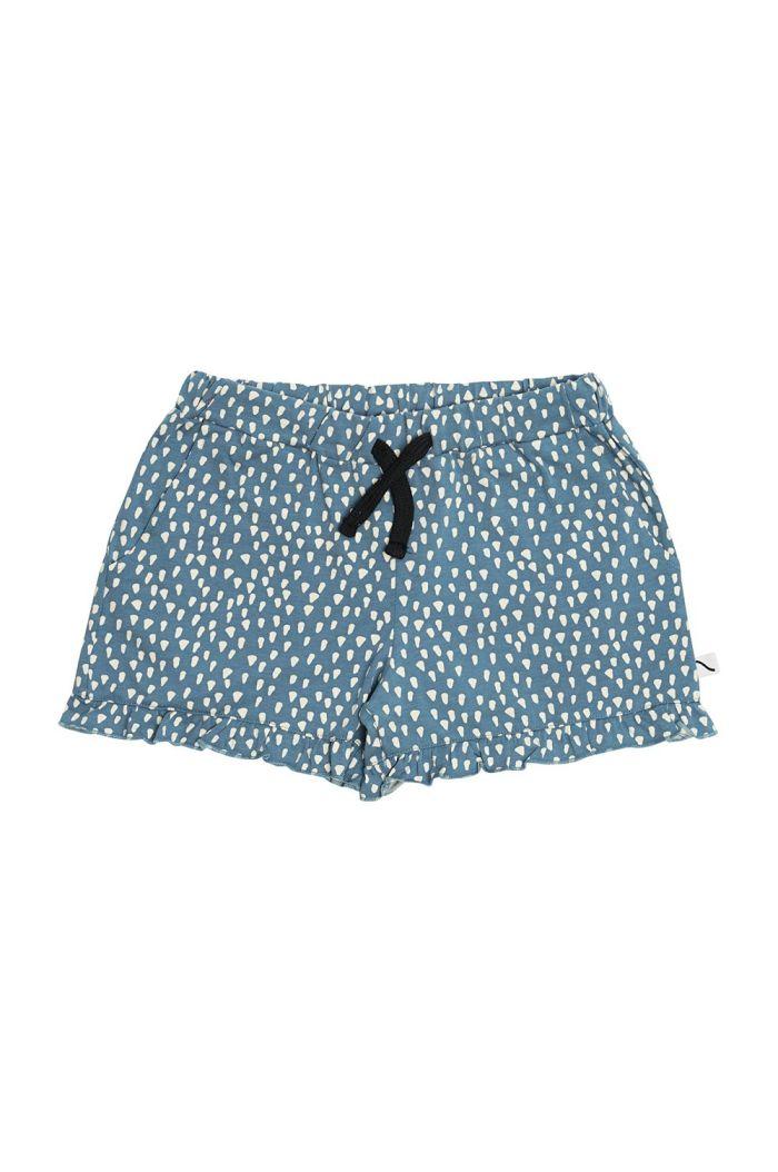 CarlijnQ Ruffled Shorts Petrol Sparkles_1