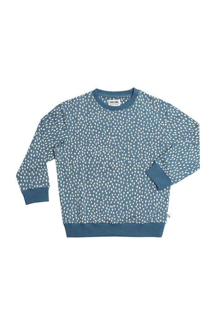 CarlijnQ Sweater Petrol Sparkles_1