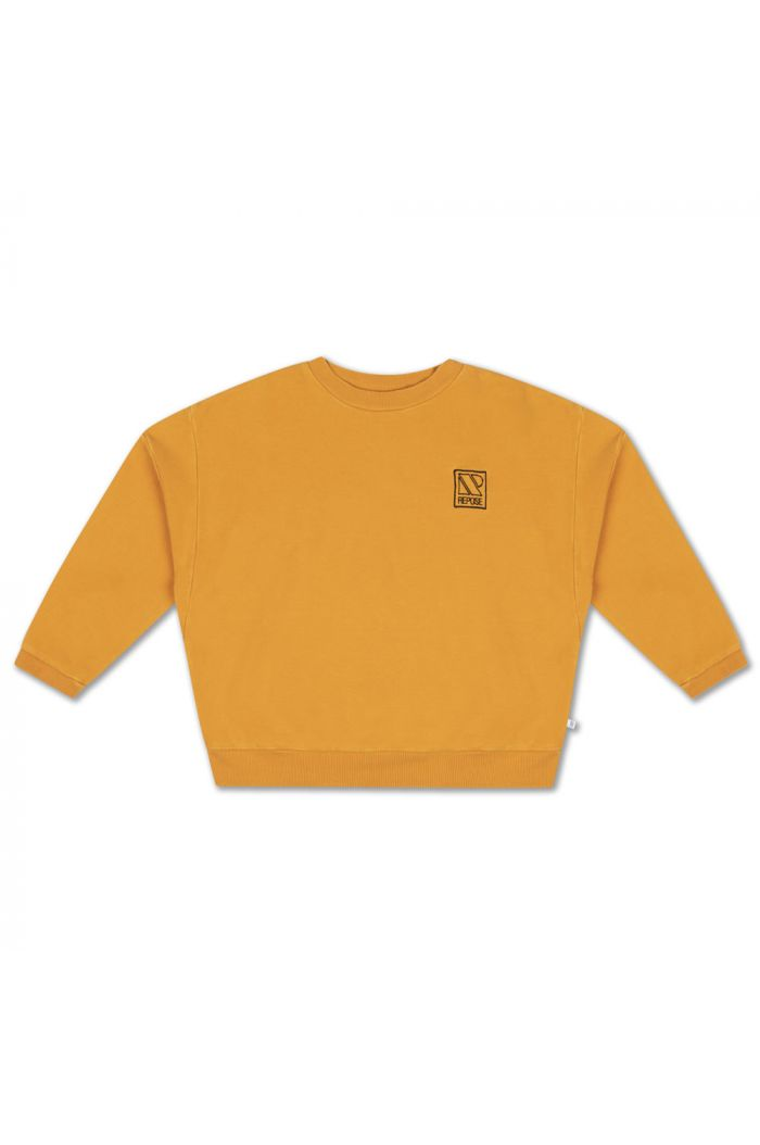 Repose AMS Crewneck Sweater Radiant Yellow_1
