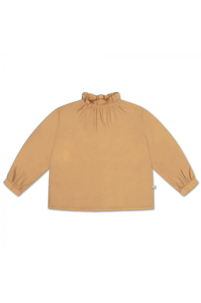 Repose AMS Ruffle Blouse warm sand_1
