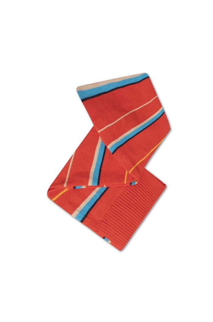 Repose AMS Knit Scarf Small Diagonal Stripe_1