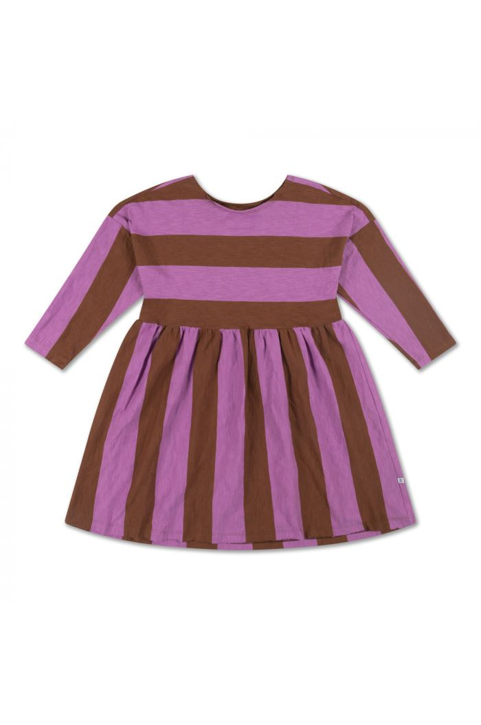 Repose AMS Easy Dress Orchid Block Stripe_1