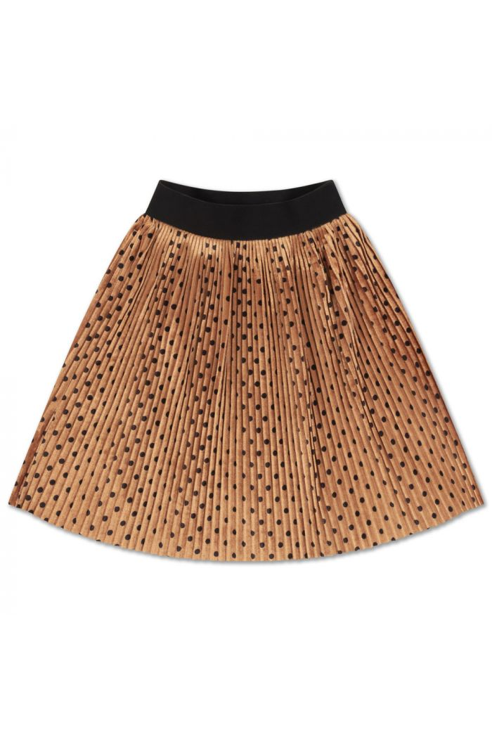 Repose AMS Plisse Skirt All Over Dot_1