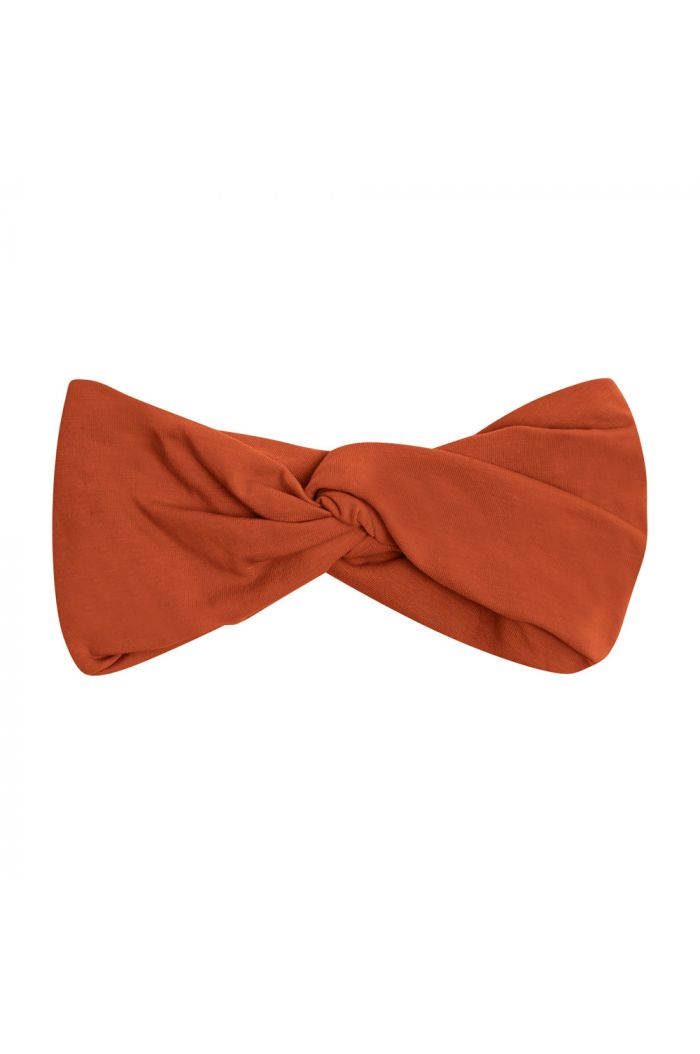 CarlijnQ Twisted Headband Basics - Orange_1