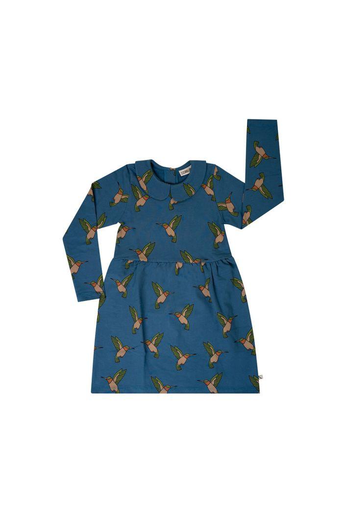 CarlijnQ Collar Dress Hummingbird_1