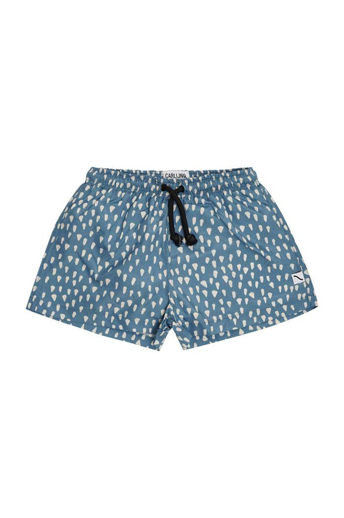 CarlijnQ Swim Shorts Petrol Sparkles_1