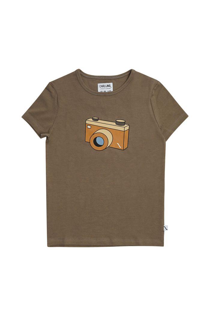 CarlijnQ T-Shirt With Print Photo Camera_1