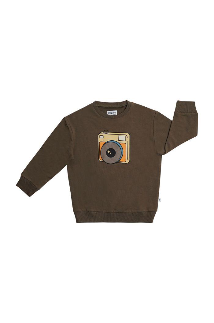 CarlijnQ Sweater With Print Photo Camera_1