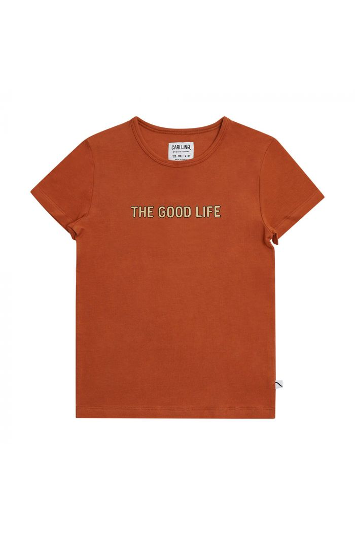 CarlijnQ T-Shirt With Print The Good Life_1