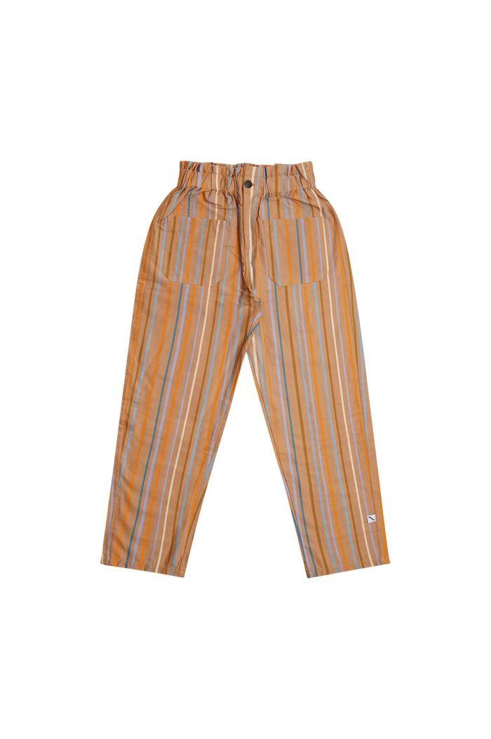 CarlijnQ High Waist Pants Multi-color stripes_1