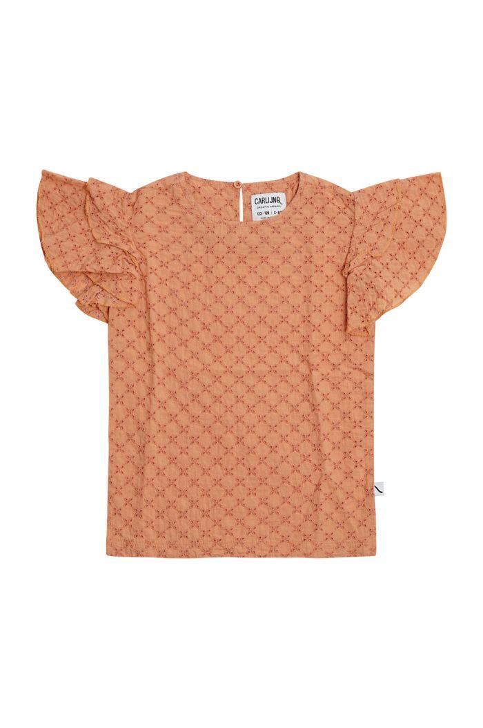 CarlijnQ Ruffled Shirt Broderie_1