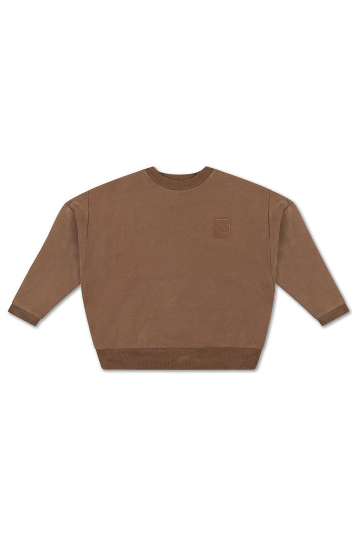 Repose AMS Crewneck Sweater Chocolate Brown_1