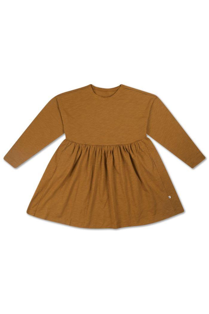 Repose AMS Simple Dress Khaki Brown_1