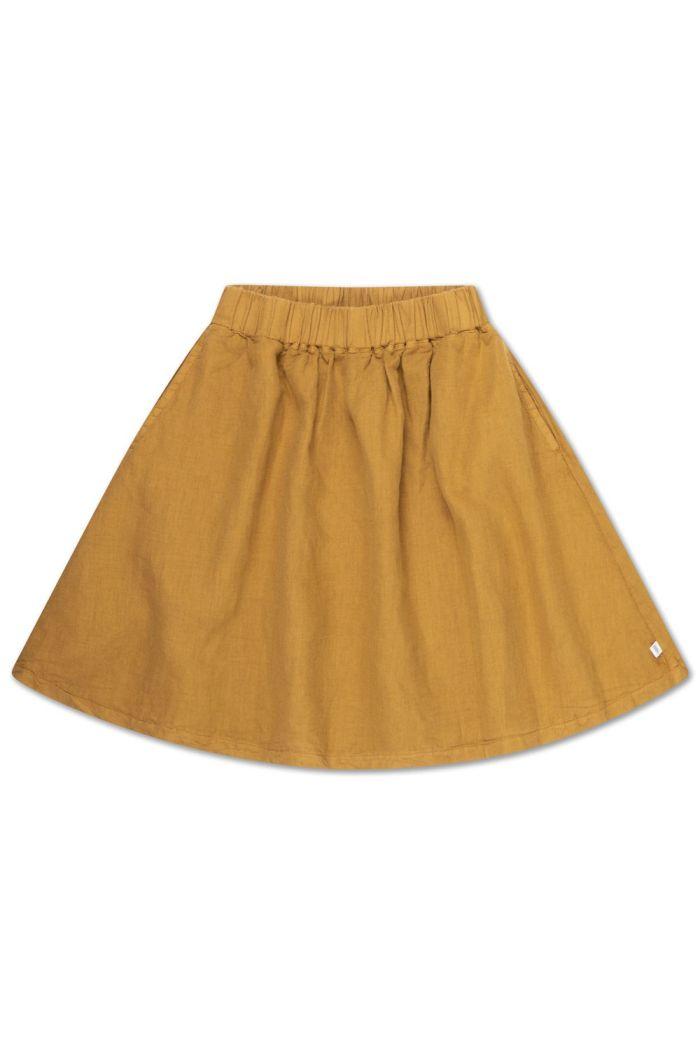Repose AMS Midi Skirt Khaki Brown_1