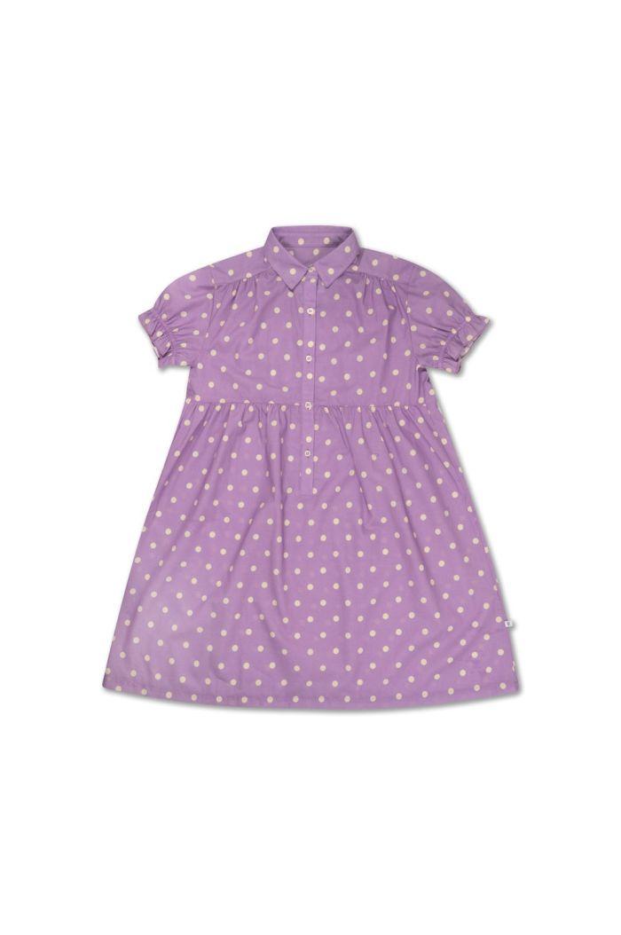 Repose AMS Dreamy Dress Greyish Lavender Polka Dot_1