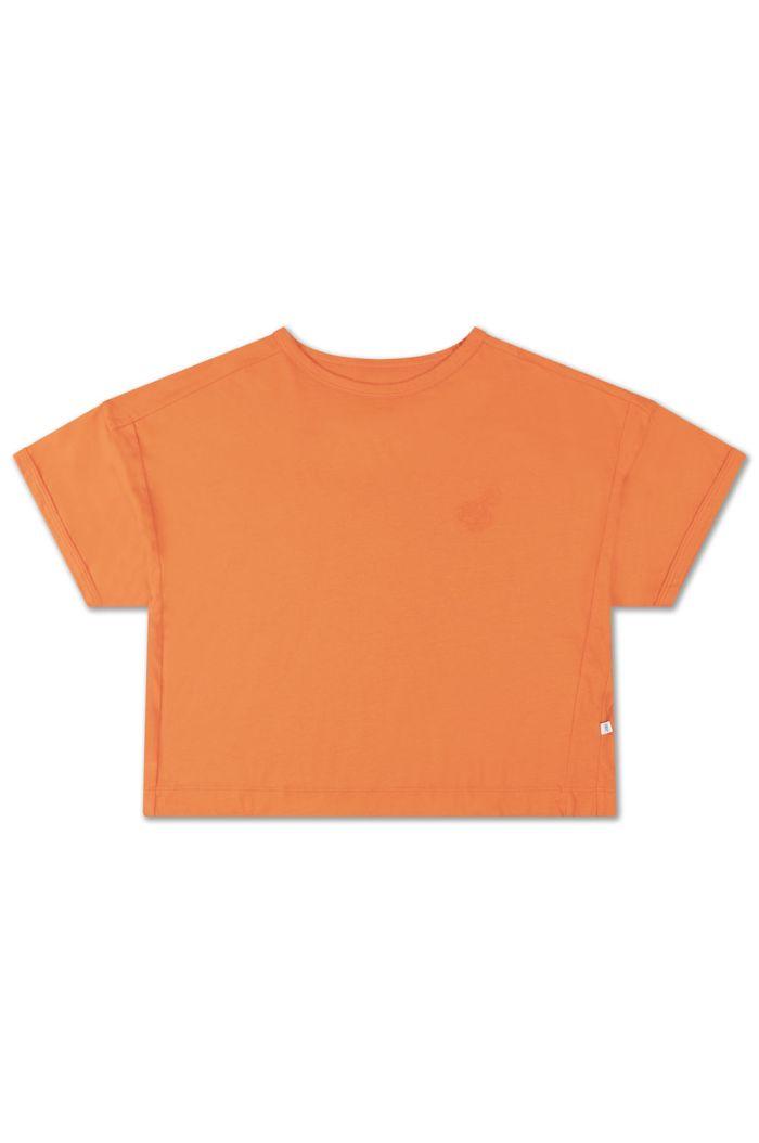Repose AMS Boxy Tee Orange Red_1