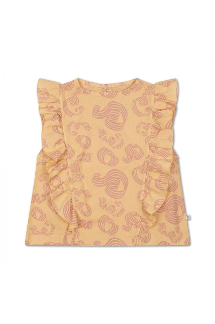 Repose AMS Ruffle Top Woven Pinkish Sandy Curl_1