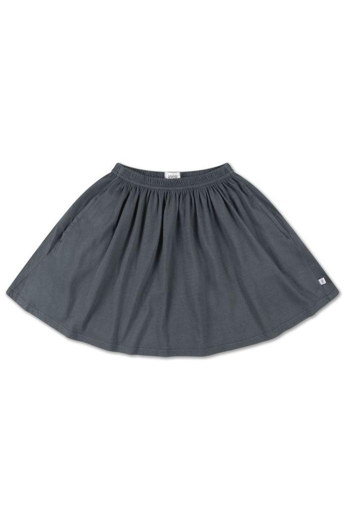 Repose AMS Mini Skirt Midnight Grey_1