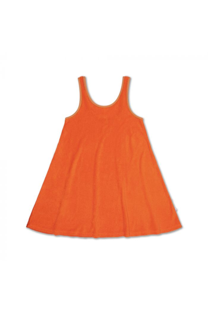 Repose AMS Sunny Dress Orange Red_1