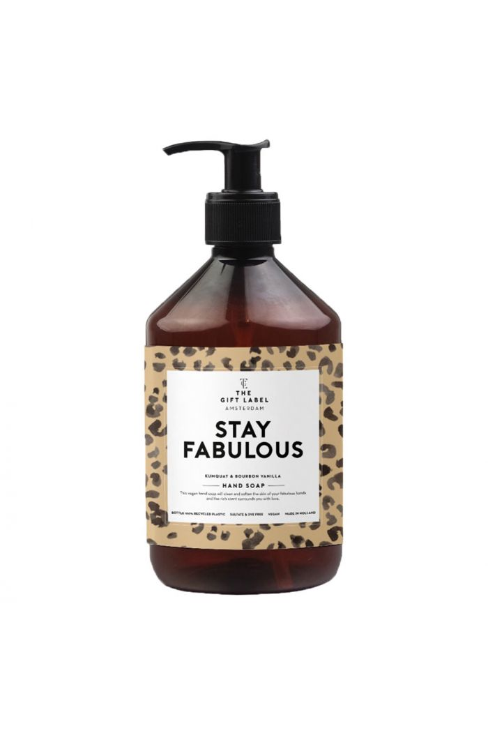 The Gift Label Handsoap Stay Fabulous _1