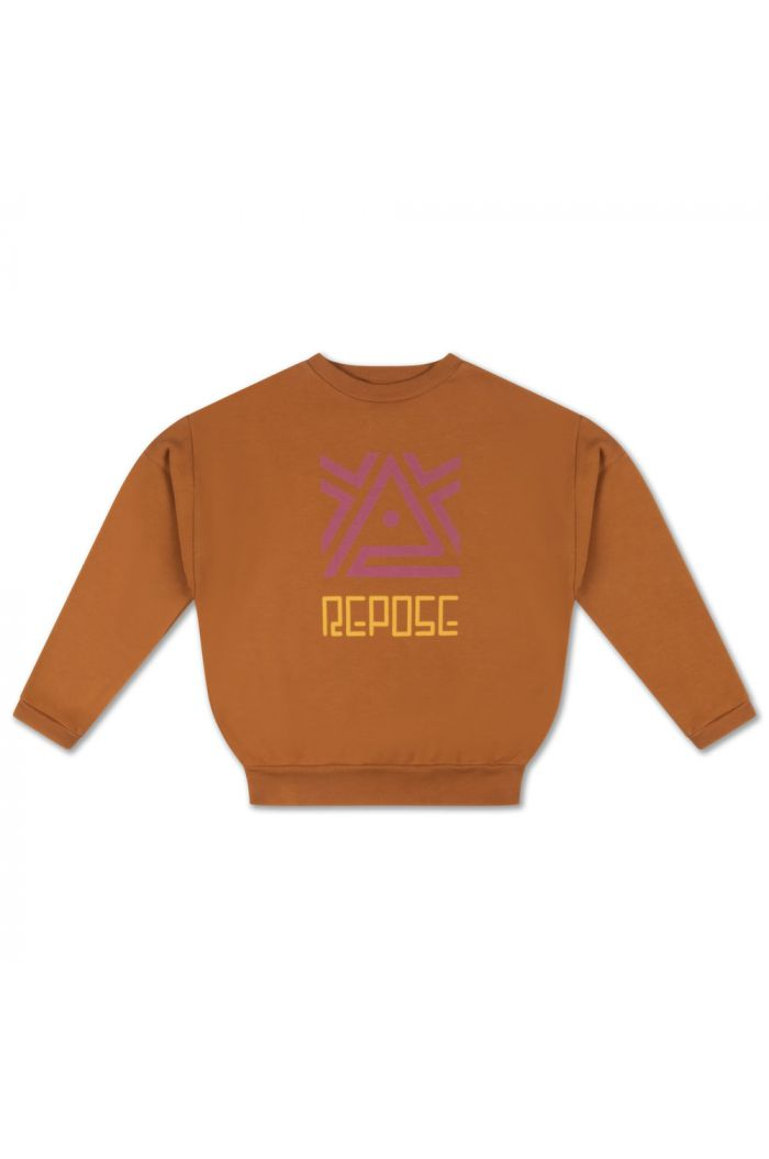 Repose AMS Crewneck Sweater Glazed Caramel_1