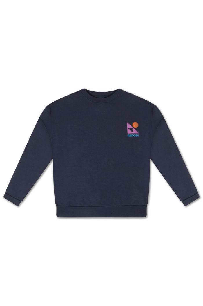 Repose AMS Crewneck Sweater Dark Night Blue_1
