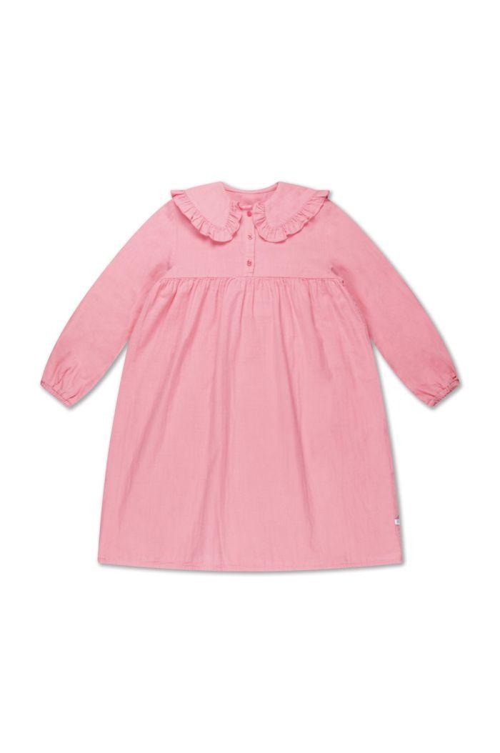 Repose AMS Fancy Collar Dress bubble gum_1