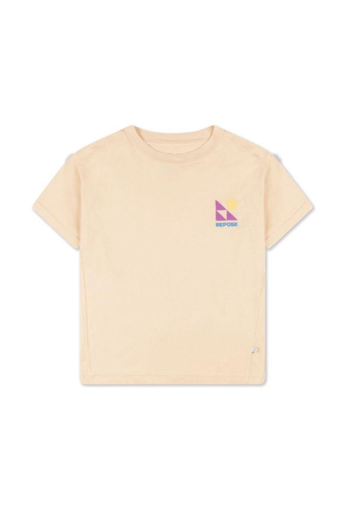 Repose AMS Tee Shirt Milky Almond_1