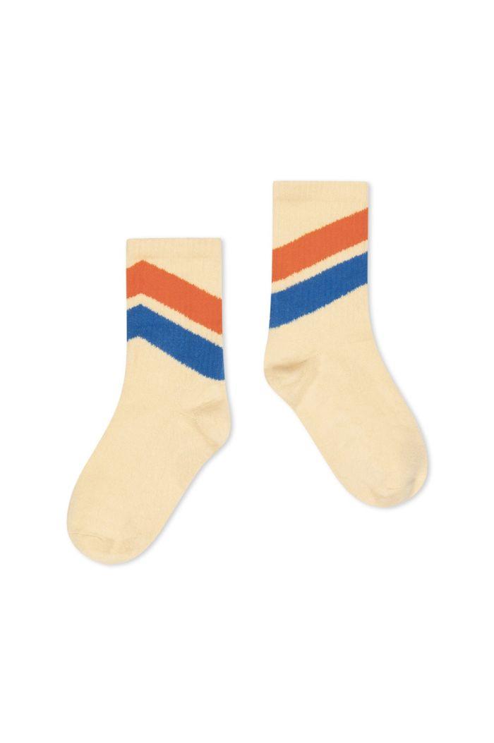 Repose AMS Sporty Socks Almond Diagonal_1