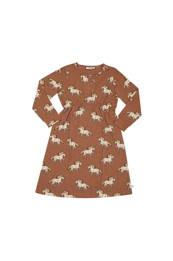 CarlijnQ 2 Button Dress Wild Horse_1