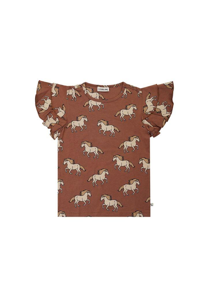 CarlijnQ Ruffled Shirt Wild Horse_1