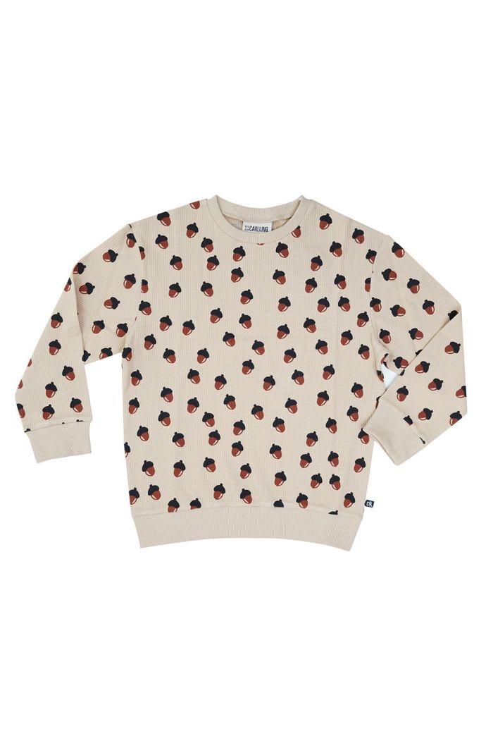 CarlijnQ Sweater Acorn Waffle_1