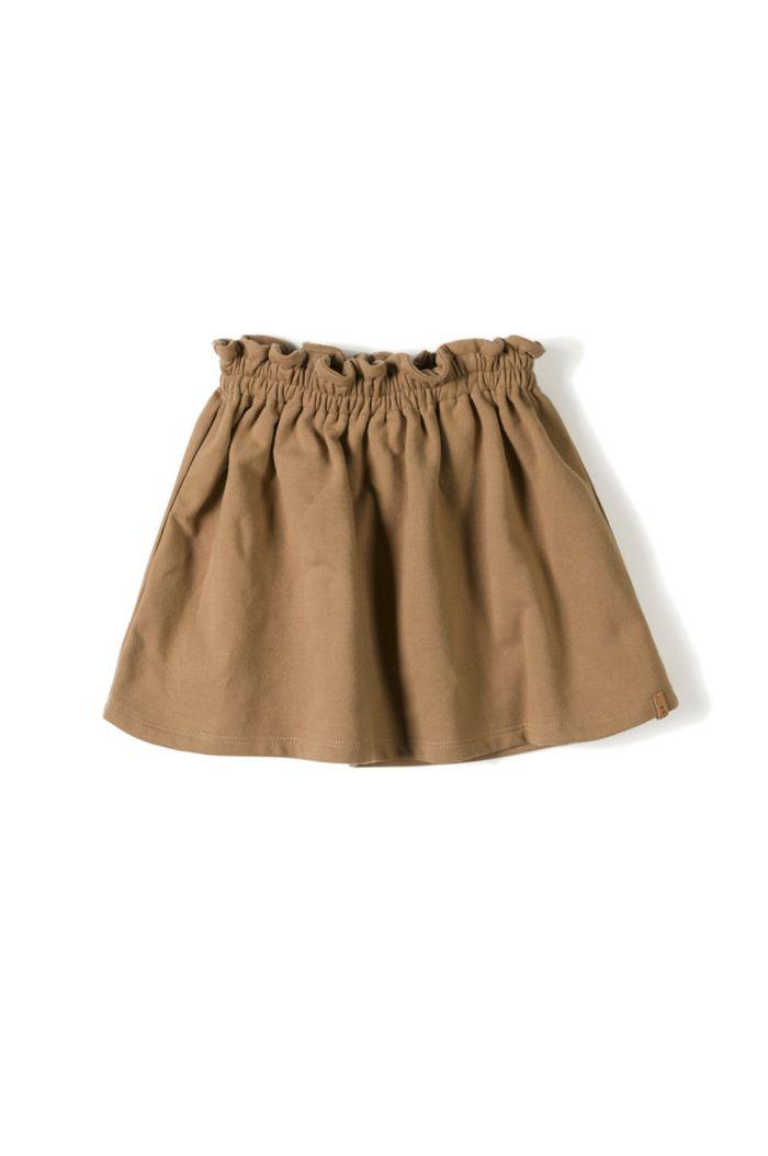 Nixnut Lin Skirt Toffee_1