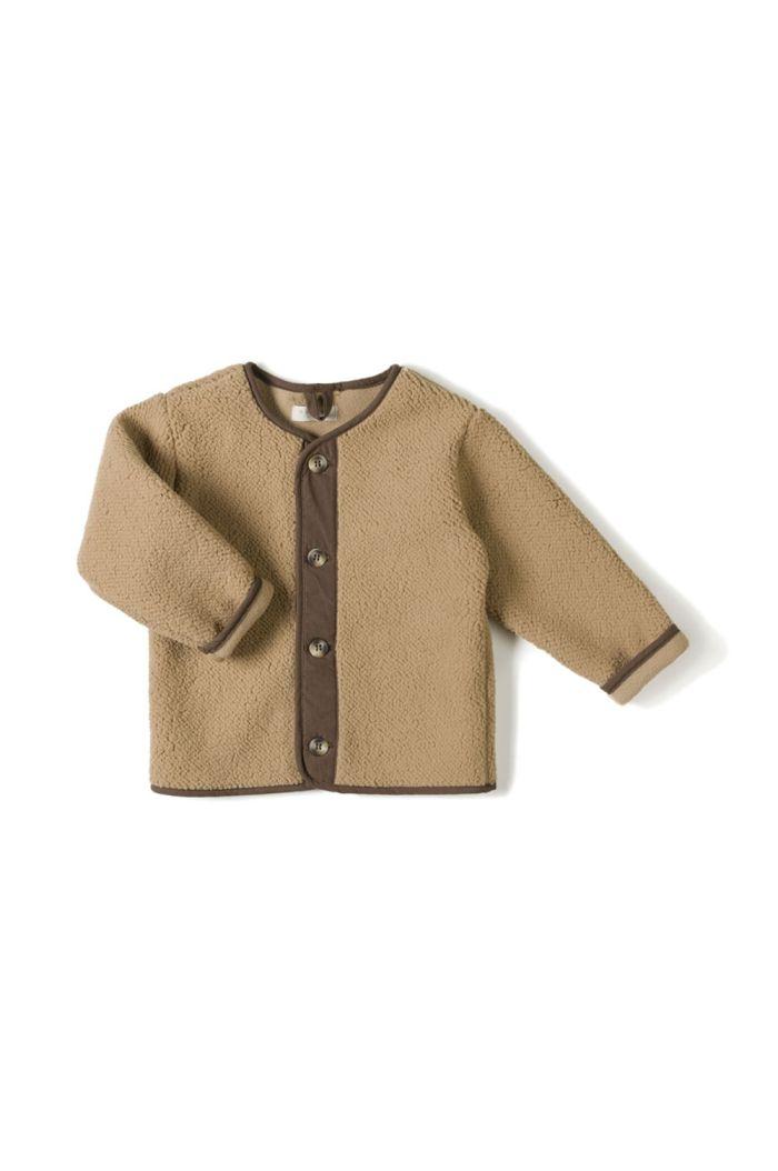 Nixnut Teddy Vest  Camel_1