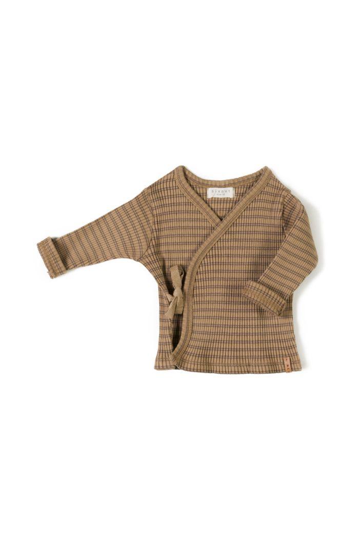 Nixnut Rib Vest Choco Stripe_1