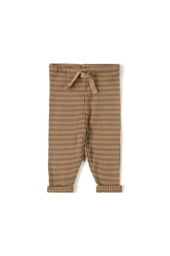 Nixnut Rib Legging Choco Stripe_1