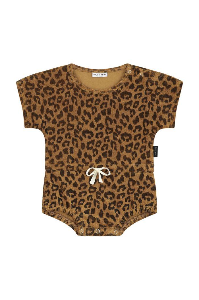 Daily Brat Joe leopard suit Sandstone_1