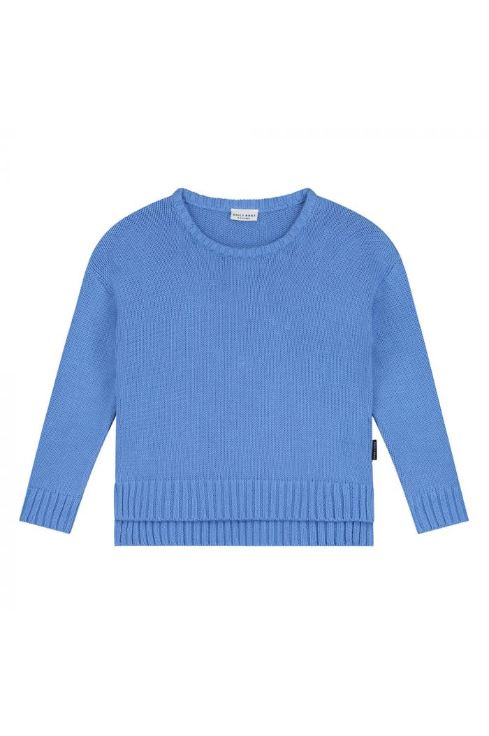 Daily Brat Austin knitted sweater Serenity blue_1
