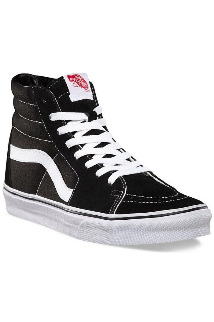 Vans Youth SK8-Hi Black/True White