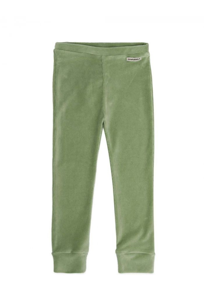 Ammehoela James sweatpants Oil green