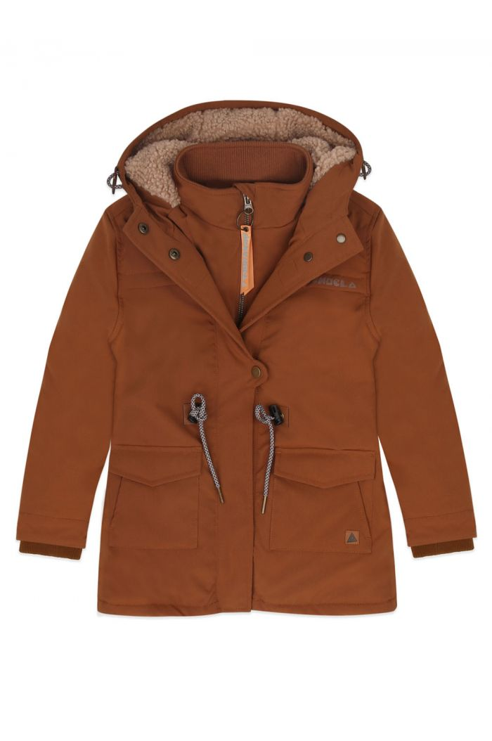 Ammehoela Storm jacket Brown_1