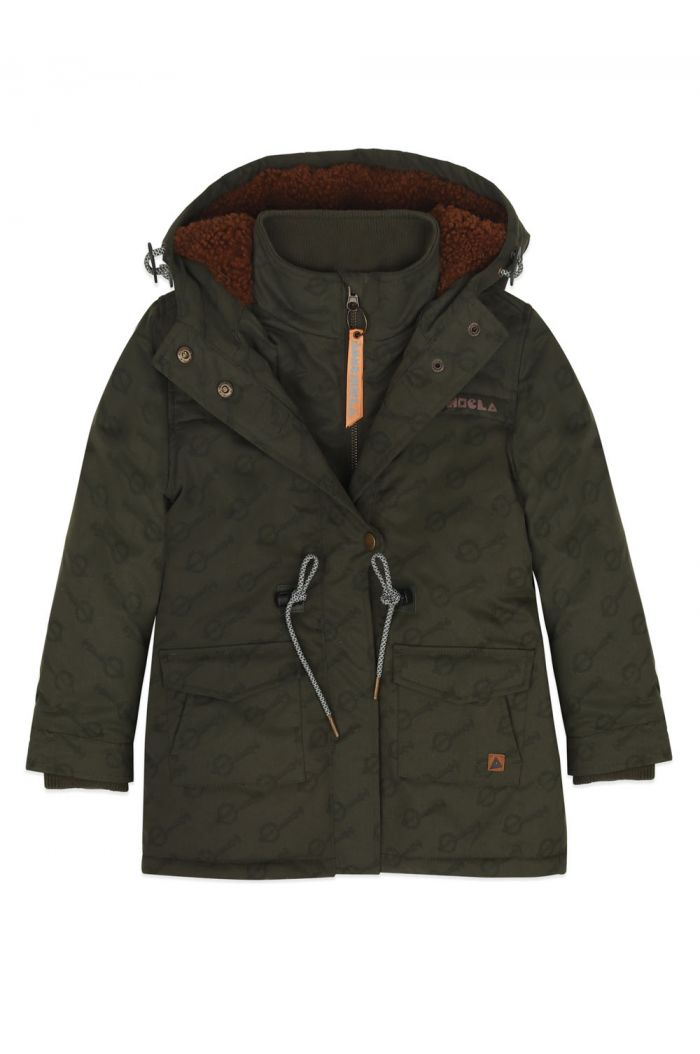 Ammehoela Storm jacket Green-Banjo_1