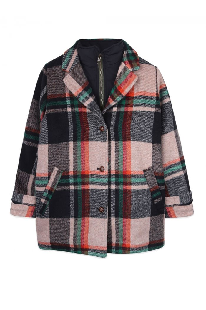 Ammehoela Rain jacket Multi-check_1