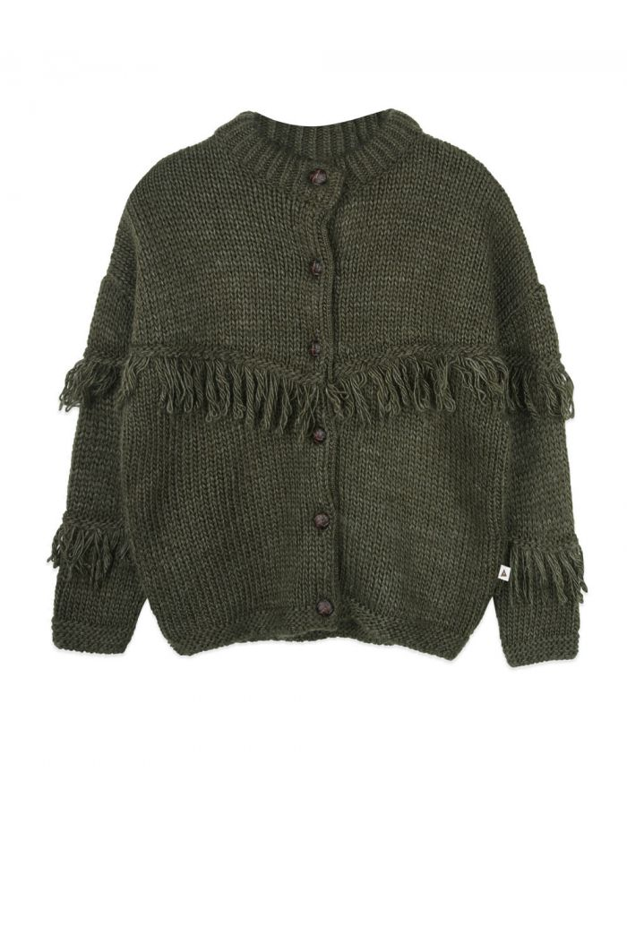 Ammehoela Cowboycardi cardigan Rifle-Green_1