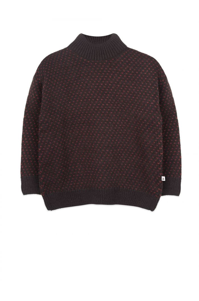 Ammehoela Noah sweater Brown_1